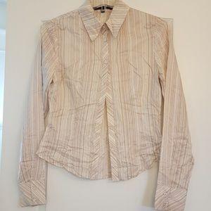 Guess Tops - Guess Silk Button Down Shirt